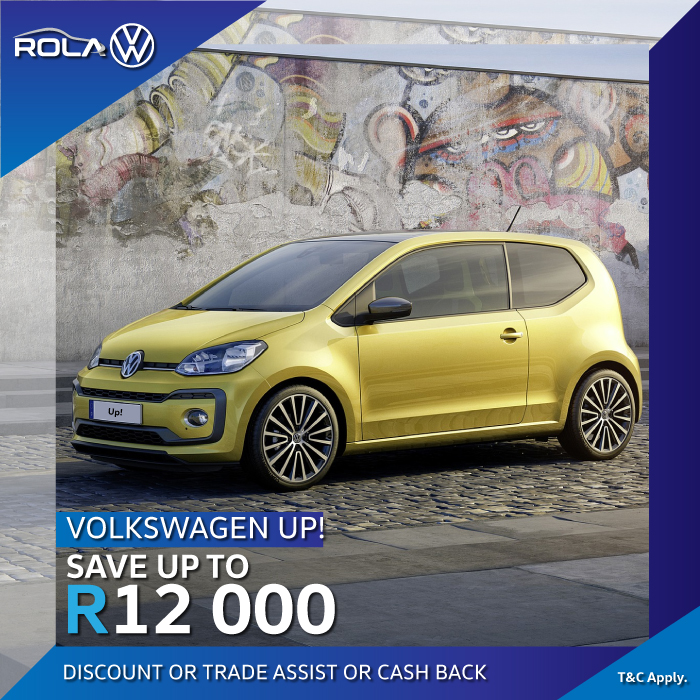 VW Up Save Offers